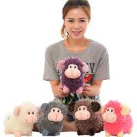 sheep plush - 1piece new zodiac sheep plush toys year of sheep mascots facai plush toy doll cm