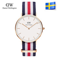 Wholesale Top Brand Luxury Style Daniel Wellington Watches DW Watch For Men Nylon Strap Military Quartz Wristwatch Clock Reloj hombre mm