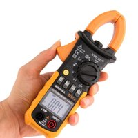 Wholesale 1 Pc Digital Clamp Meter DC AC Volt AC Amp Ohm Tester MS2008A Counts LCD Brand New