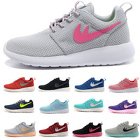 american brand sneakers - Brand shoes Roshe running shoes London Mesh RUN sports sneakers breathable European and American Style Women and Men shoes