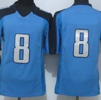 Wholesale New Draft Men s Titans Marcus Mariota Elite american football Jerseys Embroidery Name and Logo Allow Mix Order