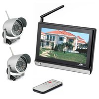 Baby Monitors - Video Baby Monitor with Two Camera and Inch TFT LCD GHz Wireless Baby Monitor with Night Vision Wireless Outdoor Camera