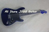 Wholesale Hot F Electric guitar Cool and fashionable dark blue HH Best selling s and s ST dark blue styling with modern high quality