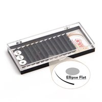 apply false eyelashes - 3D Soft Ellipse Flat Eye Lashes Easy To Apply Hand Made B Curl Thickness False Eyelashes