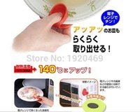 Wholesale 100PCS Silicone Heat Proof Insulation Finger Guard Protector Microwave Oven Dish Tray Clip Clamp Holder Kitchen Tools for Dishes