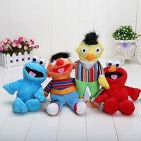 bert sesame street - new arrival Sesame street Elmo Cookie Bert Ernie doll puppet plush toy christmas gift