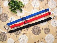 Wholesale Seat Belt Adjustable Dog Cat Pet Car Safety Seat Belt Red Blue Black Purple