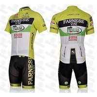 Wholesale Team Cycling Jersey Bib Shorts FARNESE cycling team jerseys Bike Jerseys and short Bib Pants C00S