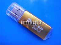 Wholesale Bright Color Micro USB Card Reader Metal Housing TF Card Reader and U Dish with TF Card