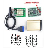 Code Reader For BMW CDP PLus Best Quality CDP PRO PLUS Scanner With OKI Chip(M6636B chip) + Bluetooth 2013 .03V Software With Car Cables + Truck Cables
