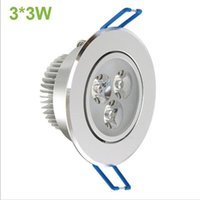Wholesale High Power W Led Ceiling Down Light v lm w Non Dimmable Led Spot Recessed Ceiling Light Lamp With Driver spotlight CE RoHS