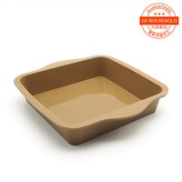 baking brownies - Trade boutique inch square cake pan bread baking brownies Melaleuca cake mold silicone baking oven Home DIY