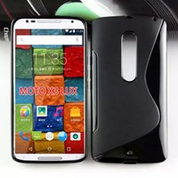 Wholesale For Moto X Play TPU Case New S Line Soft TPU Gel Skin Cover Case For Motorola Moto X Play