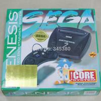 achat en gros de video games-joueur 16bit sega jeu vidéo cartouches MD3 jeu de console de jeu construit en 368 jeux (5 jeu pour de vrai) Mega Drive livraison gratuite