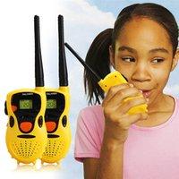 Wholesale Baby Handheld Walkie Talkies Toys Kids Educational Games Children s gifts Yellow Brand