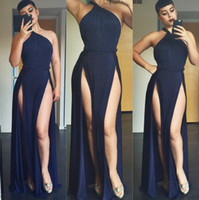 club dresses - Sexy Split woman dresses models O Neck sleeveless backless hollow out bandage bodycon dresses fashion party night club dress summer