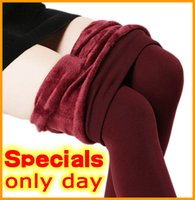 ankle pants trend - Trend Knitting HOT SALE winter new High elastic thicken lady s Leggings warm pants skinny pants for women