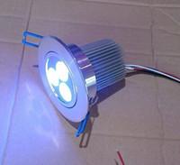 achat en gros de dc a mené la lumière au plafond-Contrôleur dmx basse tension 4 fils 3in1 rgb 3X3W conduit plafonnier DC 12V utilisé pour les centres de divertissement et les boîtes de nuit