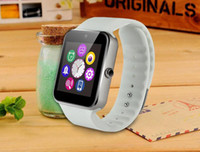 Wholesale GT08 Bluetooth Smartwatch Smart Watch for iPhone IOS Samsung Galaxy Android Smartphone Pedometer Sleep Monitoring NFC