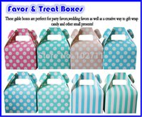 aqua showers - Baby Shower Handle Favour Gift Candy Boxes Wedding Favors and Gifts for Wedding inlcude color pink blue baby pink aqua