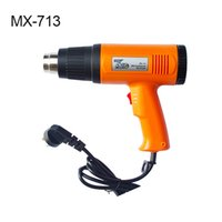 Wholesale Car wrapping tools orange W quality heat gun for vinyl film heating MX