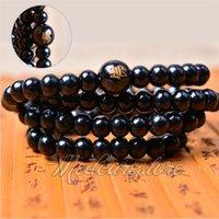 Wholesale New Beads Sandalwood Buddhist Buddha Meditation mm Prayer Bead Mala Bracelet Necklace Lowest Price