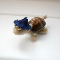 Wholesale NEW Small Shell Tortoise Ornament Lovely Shell Animals