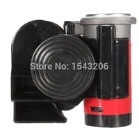 Wholesale 12V db Air Horn Snail Compact For Yacht Boat Car Truck Van Vehicle Motorcycle Boat Bike New
