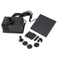 Wholesale 100 Brand New Solar Power Fountain Water Pump Panel Pond Submersible Watering AS180 B Promotions
