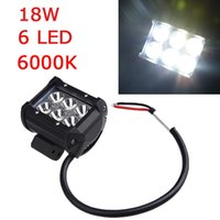atv leds - 18W K Leds Inch Spot Beam CREE Led Car Work Light Bar Working Lamp for Motorcycle Jeep SUV ATV Off road Truck Trailer