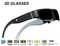 Wholesale 98 inches Andorid intelligent D glasses one built in lithium battery GB WIFI function Max32GB