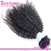 affordable clip in hair extensions - Affordable Virgin Brazilian Clip In Afro Hair Extension Unprocessed Human Hair Clip In Curly Hair Extensions g Clip Ins