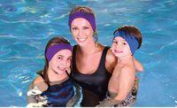 Wholesale Top selling Neoprene Swimming Headband Sports hairband ear protector Durable earmuff Nice Yoga hair band