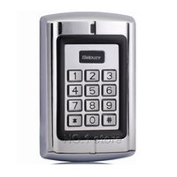 Wholesale Door Access Control RFID ID Card Reader Metal Case Security Keypad Free Keyfobs For House Office