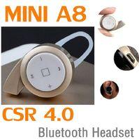 Cheap MINI A8 stereo CSR Best bluetooth handfree
