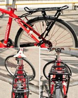 Wholesale Aluminum Alloy MTB Bike Bicycle Rack Carrier Rear Luggage Cycling Shelf Bracket