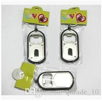 plastic flashlight - 800pcs CCA1918 Hot New Arrival Creative Vintage in LED Flashlight Torch Keychain With Beer Bottle Opener Key Ring Chain Keyring