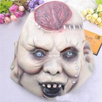 Wholesale Prank Masquerade Horror Scary Party Mask Halloween Mask Saw Theme Of Film Party Ornament