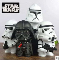 Wholesale Star Wars Toys Force Awakens Action Figures White Horse Darth Vader cm Height Hand Model Decoration Hot Sale DHL