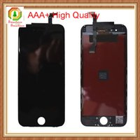 Wholesale 20pcs For iPhone LCD Touch Screen Display Digitizer Assembly AAA High Quality Replacement Full Frame With Free Charge Phone Film