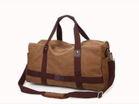 Wholesale 2015 New Fashion Canvas Cotton Fabric Large Capacity Travel Duffle Travel Bags
