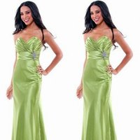 Cheap Lime Green Bridesmaids Gowns Best bridesmaid dresses