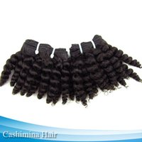 kinky curly - 8pcs quot Color Hot Selling Kinky Curly Hair Weave Queen Quality Double Machine Weft A Human Kinky Curly Hair