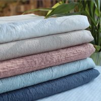 bark textures - Good texture of the original single grain washed ramie cloth ramie fabric wrinkled bark color into