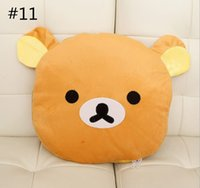 air foam pillow - 2015 Cartoon dual air conditioning was pillow Creative plush pillow cushions are air conditioning blanket coral fleece