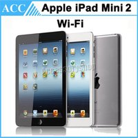 Wholesale Original Apple iPad Mini nd Generation WIFI Retina Display inch IOS A7 GB GB GB Warranty Included Silver