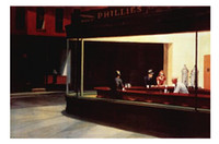 Wholesale Nighthawks Classical Stylish Nice Home Decor Retro Poster In Size x76cm Wall Sticker
