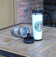 starbucks - Starbucks Double Wall Stainless Steel Mug Flexible Cups Coffee Cup Mug Tea Travelling Mugs Tea Cups Wine Cups