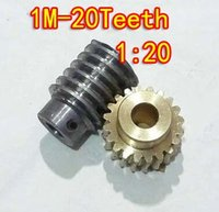 worm reducer - 1M T reduction ratio copper worm gear reducer transmission parts gear hole mm rod hole mm