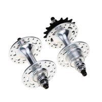 Wholesale 36 Holes Fixed Gear Bike Bicycle Hubs Set Front Hub Rear Hub Aluminium Alloy Refit Accessories